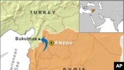 Các trại tị nạn nằm trong vùng biên giới Thổ Nhĩ Kỳ giáp ranh với Syria