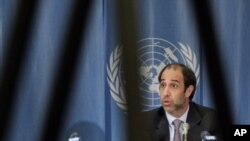 UN Special Rapporteur on Human Rights Tomas Quintana (file photo)