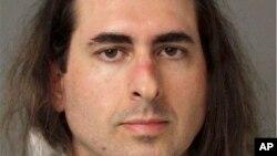 """在马里兰州首府安纳波利斯的""""首府宪报""""开枪打死5人的哈罗德·拉莫斯(Jarrod Ramos)"""