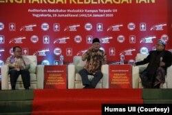 Dialog Kebangsaan di Universitas Islam Indonesia (UII) Yogyakarta, Selasa (14/1)