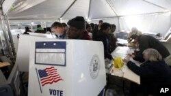 День выборов, Нью-Йорк.