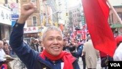 王寶銘 國民黨皇后區分部領隊