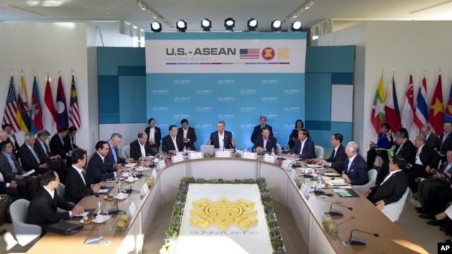 Hội nghị thượng đỉnh Mỹ-ASEAN tại Sunnylands, California, ngày 15/2/2016.
