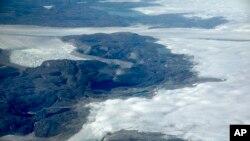 格陵兰冰盖 2017年8月3日