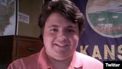 جک برگسون، ۱۶ ساله می گوید اگر فرماندار کانزاس بشود تغییرات اساسی در قوانین ایالت بوجود خواهد آورد. تصویر از توئیتر NBC47 News