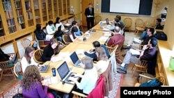 미국 터프츠 대학의 플레처 법학외교대학원의 수업 시간. 사진제공 Tufts University Fletcher School. (자료사진)