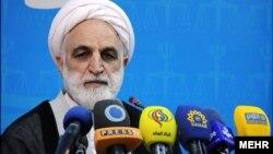 이란 정부 정례 브리핑 (자료사진)