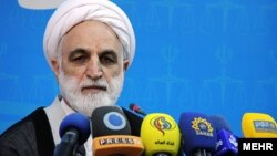 غلامحسین محسنی اژه ای سخنگوی قوه قضائیه جمهئری اسلامی ایران