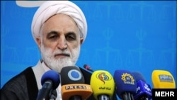 伊朗司法部門發言人艾杰