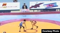 U.S. - Iran wrestling