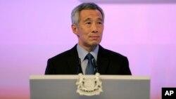 Perdana Menteri Lee Hsien Loong mengumumkan susunan kabinet baru Singapura hari Senin 28/9 (foto: dok).