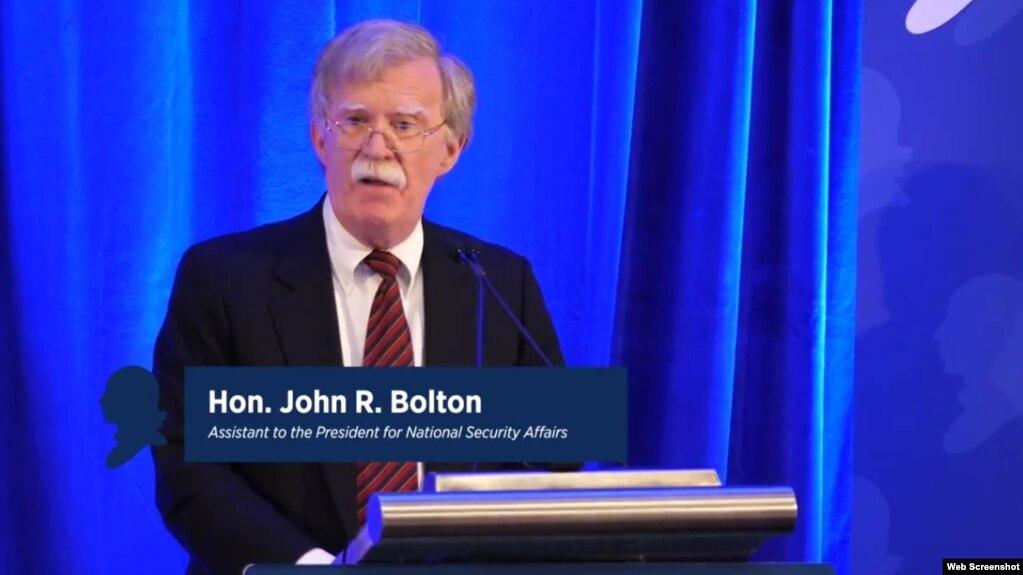 Болтон: если Сирия вновь применит химоружие, то реакция будет жестче