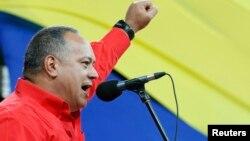 Diosdado Cabello dijo al cierre de su campaña que lo que está en juego no es su puesto sino el futuro de Venezuela.