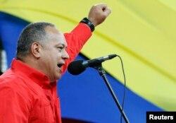 Diosdado Cabello, vicepresidente del oficialista Partido Socialista Unido de Venezuela, PSUV.