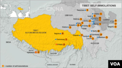 Tibet, immolation dated November 11, 2013.