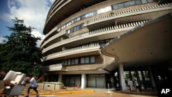 El complejo Watergate en Washington, D.C. atrae a políticos y figuras de renombre internacional que lo escogen como su residencia.