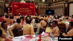 NLD ကိုယ္စားလွယ္ စြမး္ရည္ျမႇင့္ သင္တန္း။ Photo Credit to NLD Ko Min Thu
