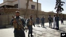 هێزهکانی ئاسایش له شـاری هێلمهندی ئهفغانسـتان، (ئهرشیفی وێنه)