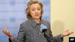 Hillary Rodham Clinton set to run for USA presidential election in 2016.