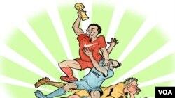 """Nike """"đánh bại"""" Adidas tại World Cup 2014."""