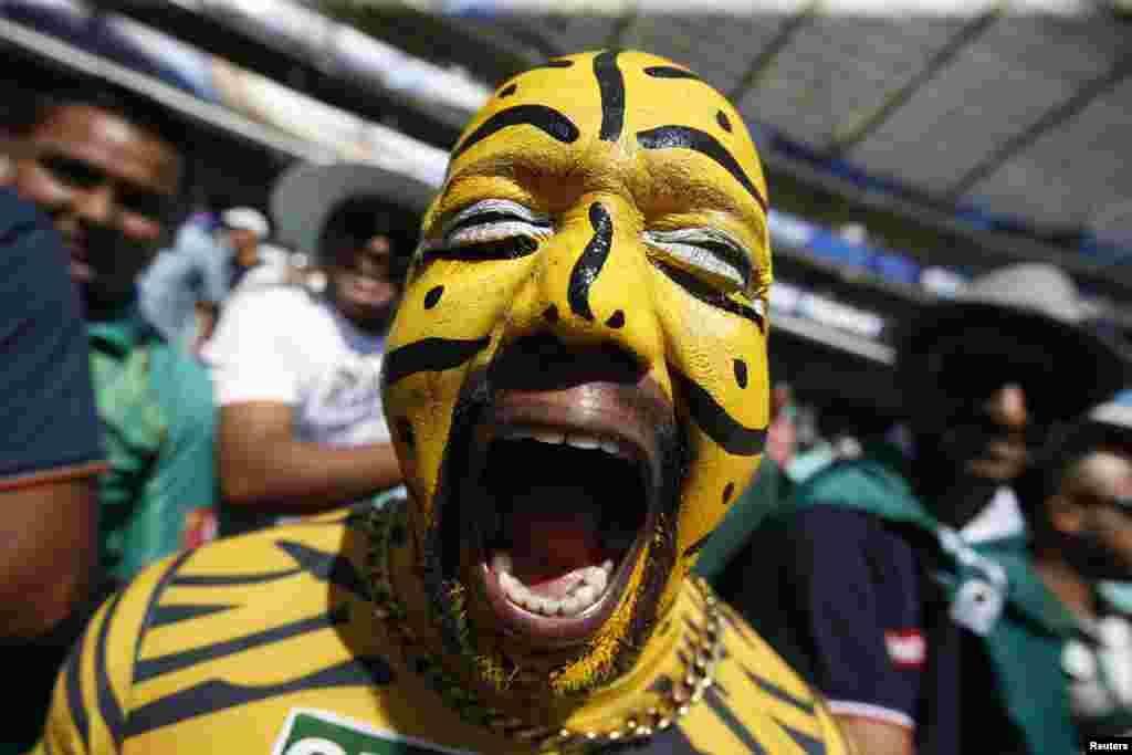 İngiltere ve Bangladeş arasındaki kriket maçında taraftar