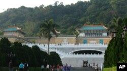 台灣標誌性建築之一台北故宮博物院