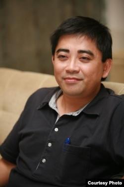 台湾国立中央大学经济学系教授邱俊荣 (邱俊荣提供)