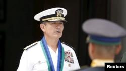 Tư lệnh Thái Bình Dương của Hoa Kỳ, Đô đốc Harry Harris tại Quezon, Philippines, ngày 26/8/2015.