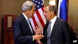 Джон Керри и Сергей Лавров на Генеральной Ассамблее ООН