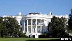 미국 워싱턴의 백악관.
