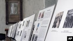 미 의회에서 열린 6.25 한국전쟁 이후 남북한의 사회발전상을 비교하는 국제 사진 전시회