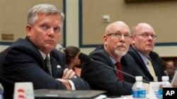 Các nhân chứng tại buổi điều trần của Quốc hội Mỹ về vụ tấn công Benghazi, ngày 8/5/2013.