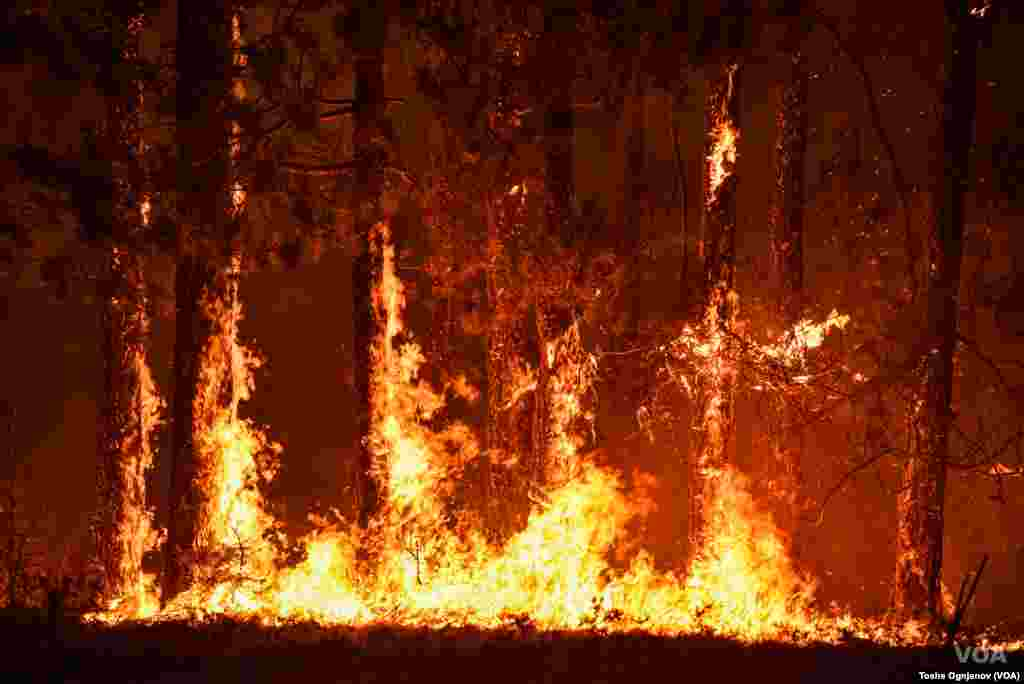 Wildfires in North Macedonia
