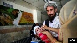 رواں سال خیبرپختونخوا میں پولیو وائرس سے متاثرہ بچوں کی تعداد 45 جب کہ بلوچستان میں یہ تعداد پانچ ہوگئی ہے۔ (فائل فوٹو)