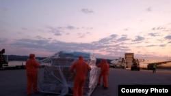 Volonteri civilne zaštite na aerodromu Banja Luka