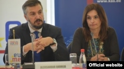 Nacionalni koordinator za EU Aleksandar Pejović (Foto: Gov.me)