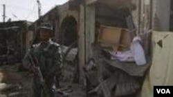 Korban tewas di Kandahar termasuk di antaranya 13 polisi dan 22 warga sipil.