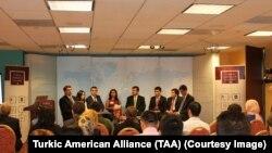 Vashingtonda o'tgan davra suhbati, Turkiy xalqlar va Amerika Uyushmasi, 14-oktabr, 2014