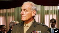 FILE - U.S. Marine Gen. John Kelly says about 150 Islamic extremists left the Caribbean region to join Islamic State fighters in the Middle East last year, about 50 more than in the previous year.