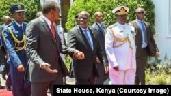 Le président Uhuru Kenyatta à Nairobi, Kenya, le 31 octobre 2016.