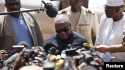 Ibrahim Boubacar Keïta, président du Mali, à Bamako, au Mali, 21 novembre 2015.