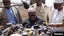 Le président Ibrahim Boubacar Keïta du Mali, lors de presse, à Bamako, 21 novembre 2015. (REUTERS/Joe Penney)
