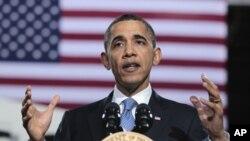 奧巴馬呼籲兩黨議員通過預算案。