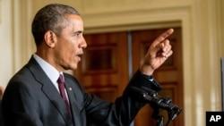 Tổng thống Barack Obama phát biểu tại Nhà Trắng ngày 4/8/2015.