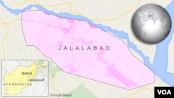 아프가니스탄 동부 잘랄라바드 지역.