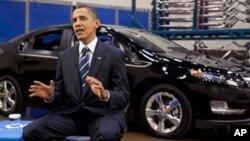 O Πρόεδρος Ομπάμα μίλησε για την απόδοση της κυβέρνησής του στο Ντητρόιτ, όπου εδρεύουν οι μεγάλες βιομηχανίες αυτοκινήτων των ΗΠΑ.
