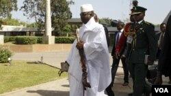 Le président de la Gambie, Yahya Jammeh