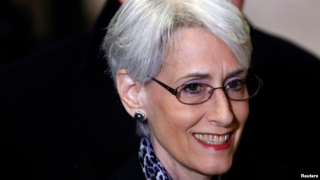 FILE - U.S. Under Secretary of State for Political Affairs Wendy Sherman.