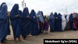 Afg'on ayollari saylovga chiqdi, 5-aprel, 2014-yil