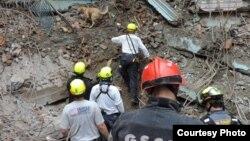 El terremoto de Nepal el 25 de abril causó la muerte a más de 8.000 personas.